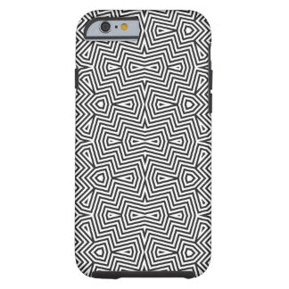 Optical art Broked angles Tough iPhone 6 Case