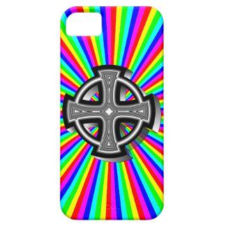 Optical Celtic Cross iPhone 5 Case