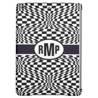 Optical Checkerboard iPad Air Cases