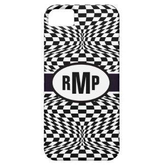 Optical Checkerboard iPhone 5 Covers
