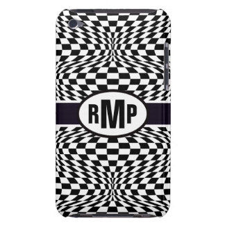 Optical Checkerboard iPod Touch Covers