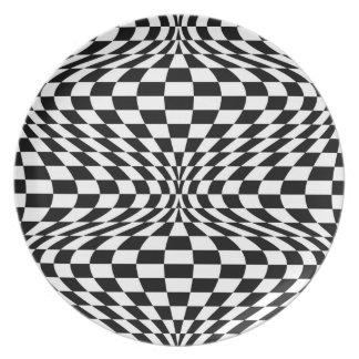 Optical Checkerboard Plate