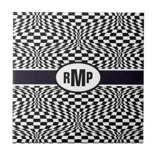 Optical Checkerboard Tile