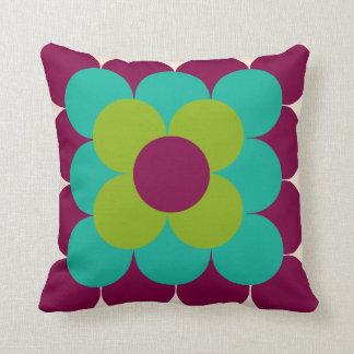Optical flower pillow