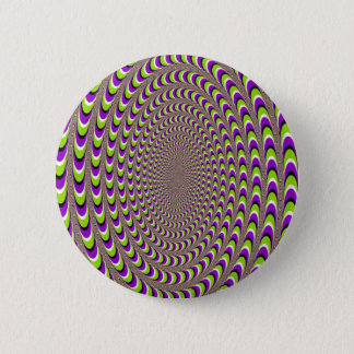 Optical Illusion 2 Inch Round Button