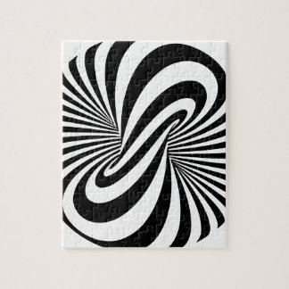 Optical Illusion 3D Spiral Jigsaw Puzzle