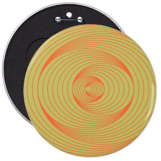 Optical Illusion 6 Inch Round Button