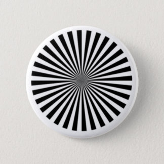 Optical Illusion Allows One To See Ones Brainwaves 2 Inch Round Button