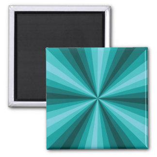 Optical Illusion Aqua Magnet