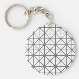 optical illusion background pattern texture geomet keychain