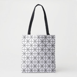 optical illusion background pattern texture geomet tote bag