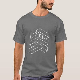 Optical Illusion - Blocks T-Shirt