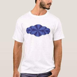 Optical Illusion Blue Men's Light Shirt