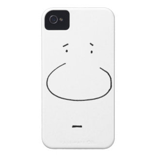 Optical Illusion Cartoon Face iPhone 4 Covers