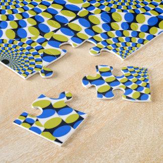 Optical Illusion Circles Novelty Puzzles