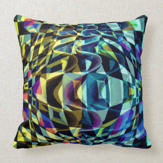 Optical Illusion distortion Throw Pillow