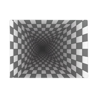 OPTICAL ILLUSION DOORMAT