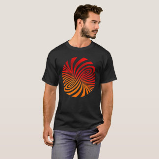 Optical illusion funny orange T-Shirt