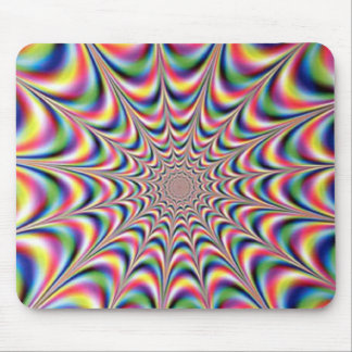 optical illusion mousemat mouse pad