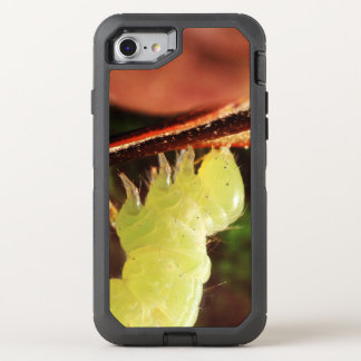 Optical Illusion Playful Green Inchworm OtterBox Defender iPhone 8/7 Case