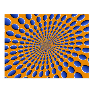 Optical Illusion Pods Postcard