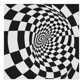 Optical Illusion Poster