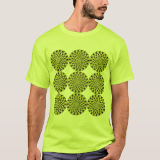Optical Illusion - Spinning Wheels T-Shirt