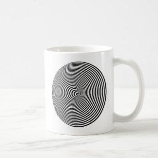 Optical Illusion Spiral Coffee Mug