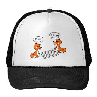 Optical illusion Trick Fox Trucker Hat