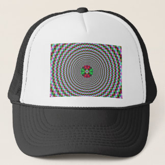 Optical Illusion Trucker Hat