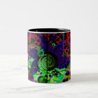 """""""Optical Illusion"""" Two-Tone Coffee Mug"""