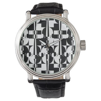 Optical Illusion Violins Watch