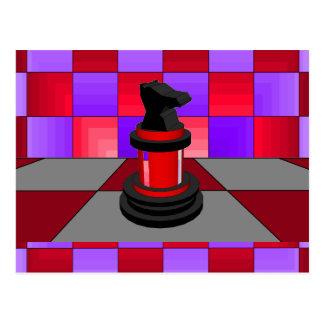 Optical Knight Chess CricketDiane 2013 Postcard
