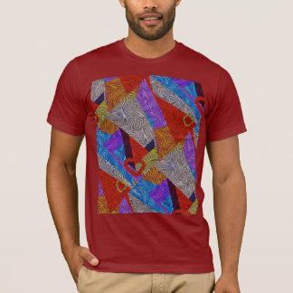 Optical Relation Abstract Pop Art T-Shirt