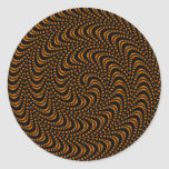 Optical Swirl Coloured Design