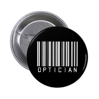 Optician Bar Code 2 Inch Round Button