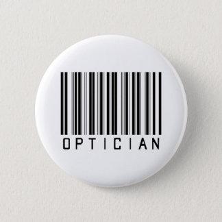 Optician Bar Code 2 Inch Round Button