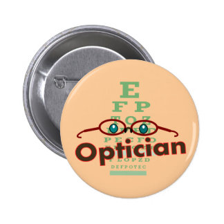 Optician--Eye chart Gifts 2 Inch Round Button