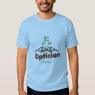 Optician--Eye chart Gifts Tee Shirts