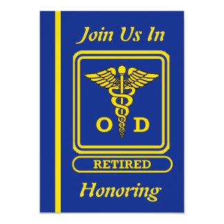 Optician Retirement Invitation