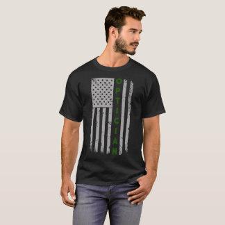 Optician U.S. Flag T-Shirt
