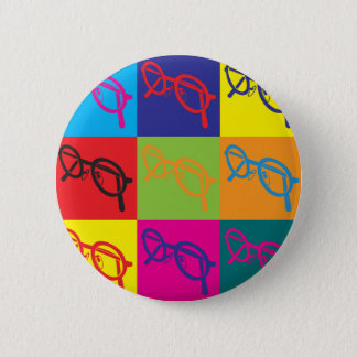 Optics Pop Art 2 Inch Round Button