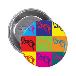 Optics Pop Art 2 Inch Round Button