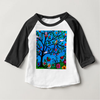 OPTIMISM BIRDS TREE OF LIFE BABY T-Shirt
