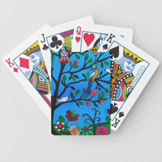 OPTIMISM BIRDS TREE OF LIFE BICYCLE PLAYING CARDS