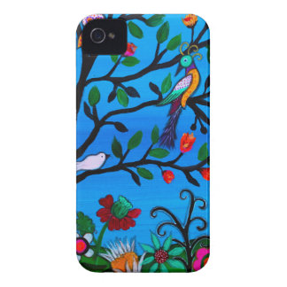 OPTIMISM BIRDS TREE OF LIFE Case-Mate iPhone 4 CASES