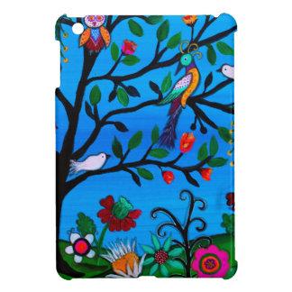 OPTIMISM BIRDS TREE OF LIFE iPad MINI COVERS