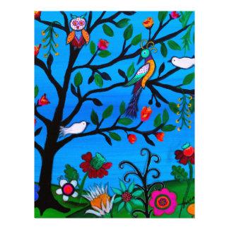 OPTIMISM BIRDS TREE OF LIFE LETTERHEAD