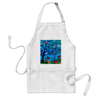 OPTIMISM BIRDS TREE OF LIFE STANDARD APRON