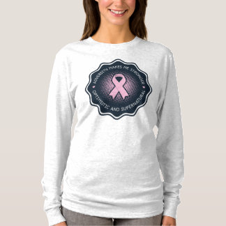 Optimistic T-shirt towards the Cancer of Breast